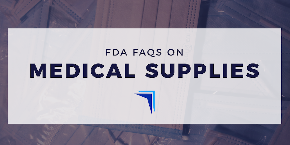 FDA FAQs on Shortages of Surgical Masks and Gowns