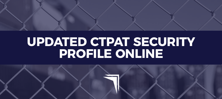 updated ctpat security profile online fcbf